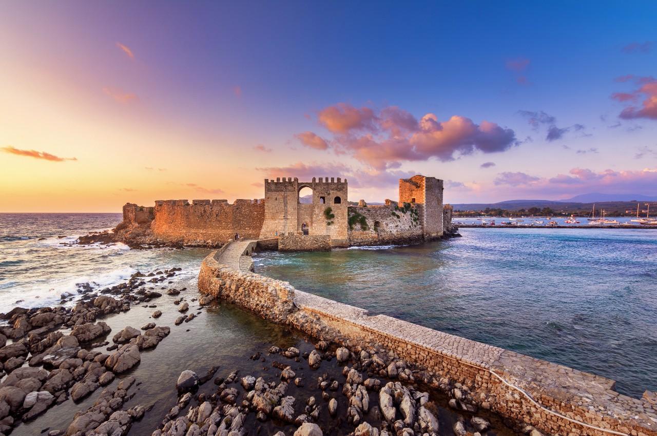 Festung von Methoni Peloponnes Griechenland