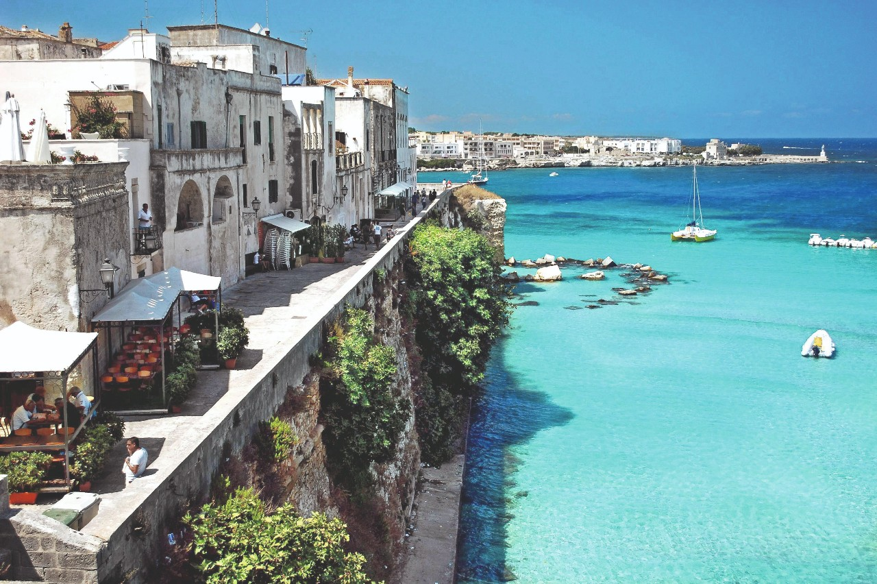 Otranto, Apulien, Italien
