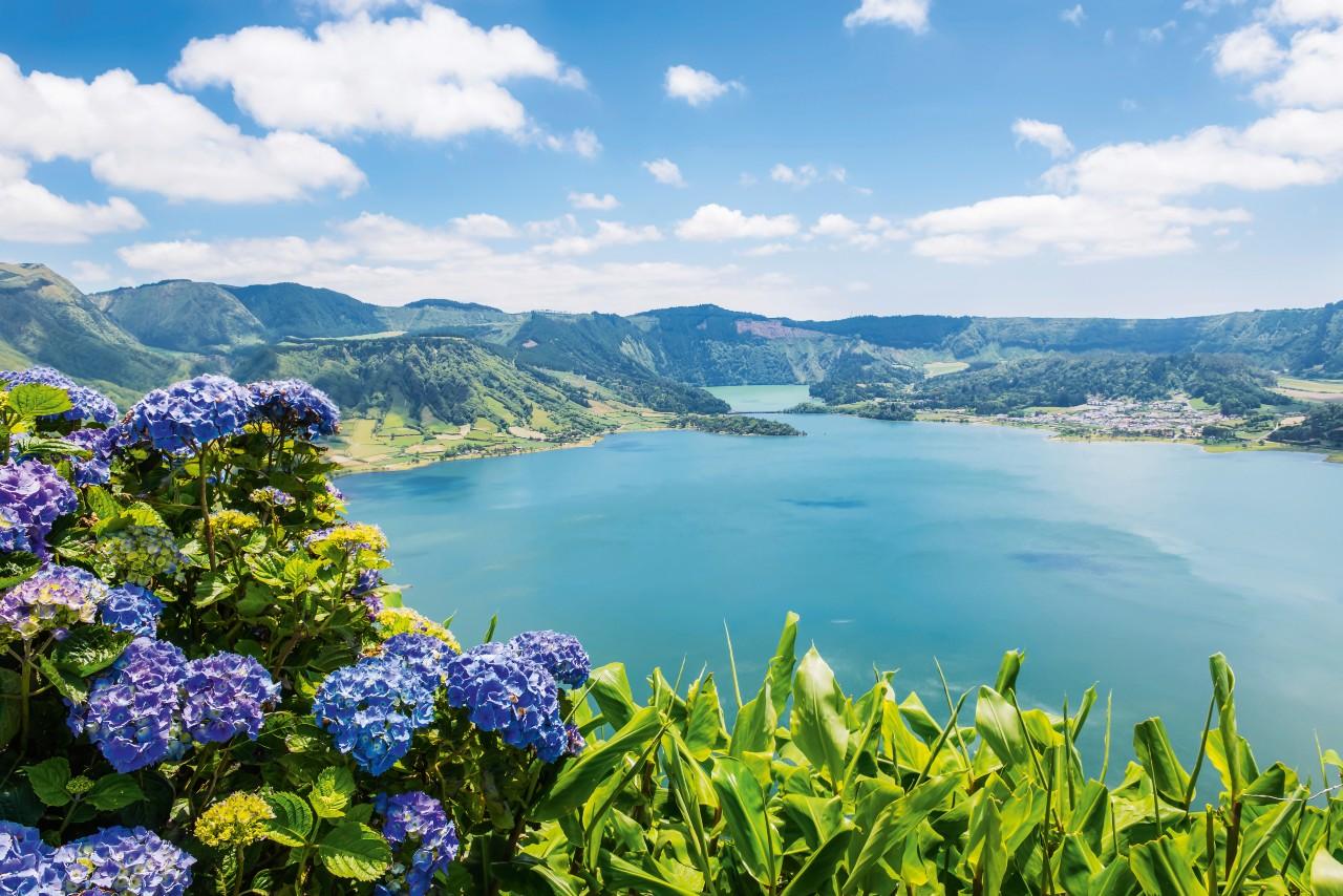 Sete Cidades See Azoren Portugal