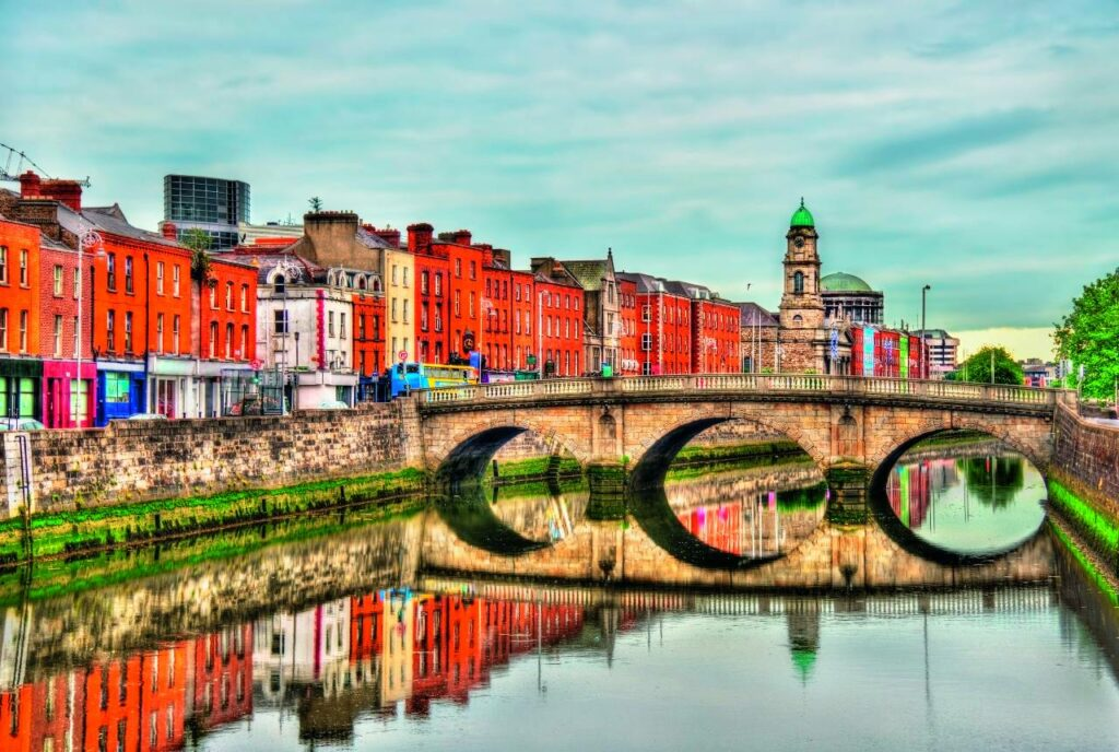 Mellows Bridge in Dublin, Irland