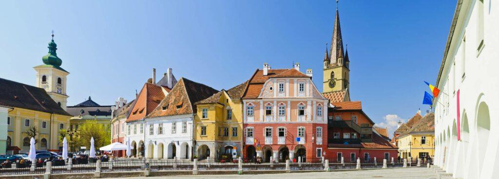 Rumänien Sibiu Markt